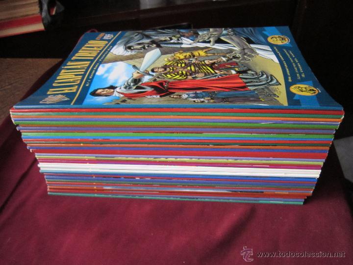 Tebeos: El Capitán Trueno Colección Extra Fans lote 34 Tomos Ediciones B Excelentes TEBENI - Foto 2 - 52942499
