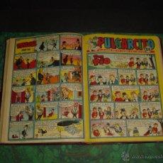 Tebeos: PULGARCITO (BRUGUERA) ... Nº 1451/1475 - TODOS INCLUYEN CAPITAN TRUENO - . Lote 52968529