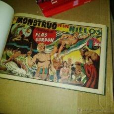 Tebeos: FLAS FLASH GORDON HISPANO AMERICANA 1946 COMPLETA PERFECTO ESTADO COMO NUEVA ENCUADERNADA. Lote 53402507