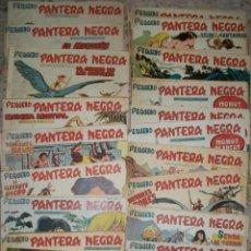 Tebeos: PEQUEÑO PANTERA NEGRA (MAGA) (LOTE DE 58 NUMEROS DIFERENTES). Lote 53603089