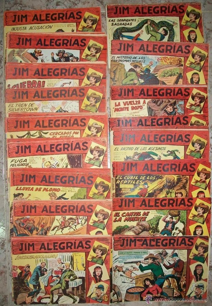 JIM ALEGRIAS (MAGA) 69 EJ. (COMPLETA) (ORIGINAL) (Tebeos y Comics - Tebeos Colecciones y Lotes Avanzados)