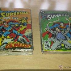 Tebeos: SUPERMAN VOL. 2 - LOTE 30 NºS + 2 ESPECIALES - VER NºS EN DESCRIPCIÓN - DC ZINCO. Lote 53854190