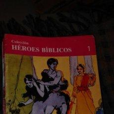 Tebeos: LOTE 58 COMICS HEROES BIBLICOS..FALTA N 10 Y 13..BUEN ESTADO. Lote 53874677