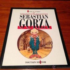 Tebeos: COLECCION COMPLETA DE 1 NUMERO. SEBASTIAN GORZA. TOUTAIN 1991. PASQUAL FERRY. Lote 53999019