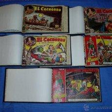 Tebeos: EL CACHORRO. LOTE DESDE EL Nº 31 AL 182. ENCUADERNADOS EN 5 TOMOS. ORIGINALES.. Lote 54036732