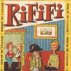 Tebeos: RIFIFI AÑO 1961 LOTE DE 13 TEBEOS Nº 1 - 2 -3 - 4 - 5 - 6 - 7 - 8 - 9 - 10 - 11 - 13 - 15 ORIGINALES. Lote 54269451