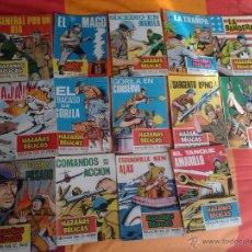 Tebeos: LOTE 72 COMICS BELICOS: HAZAÑAS BELICAS, RELATOS DE GUERRA, VALOR, GUERRA, EXTRA COMBATE, (AÑOS 60). Lote 54627925