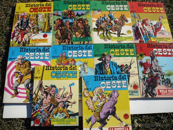 HISTORIA DEL OESTE. NºS 8 AL 17. EUREDIT, BARCELONA. (Tebeos y Comics - Tebeos Colecciones y Lotes Avanzados)