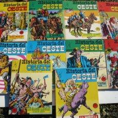 Tebeos: HISTORIA DEL OESTE. NºS 8 AL 17. EUREDIT, BARCELONA.. Lote 54782391