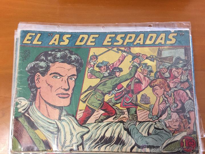 AS DE ESPADAS COMPLETA CAJA 1 BUEN ESTADO (Tebeos y Comics - Tebeos Colecciones y Lotes Avanzados)