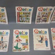 Tebeos: 918- QUICO REVISTA SEMANAL COMIC AÑO 1954 COLECCION COMPLETA DE MUSEO COLECCION COMPLETA DIFICIL !!!. Lote 55098407