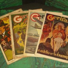 Tebeos: GERIFALTE (DUMBO/ATLANTIDA - 1943). ¡¡ COMPLETA !!. Lote 55304004