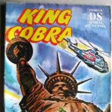 Tebeos: KING COBRA Nº 6 Y 7 - CIMICS DS EDITORES 1981. Lote 55523596