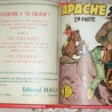 Tebeos: APACHE 2ª (MAGA) 76 EJ. (TOMO 1/49) (ORIGINAL COMPLETA). Lote 7106299