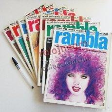 Tebeos: LOTE DE COMICS RAMBLA - AÑOS 80 CÓMIC PARA ADULTOS - BEÁ MAROTO ZAMORA GARCÍA - 11 13 14 15 16 17 18. Lote 55772544