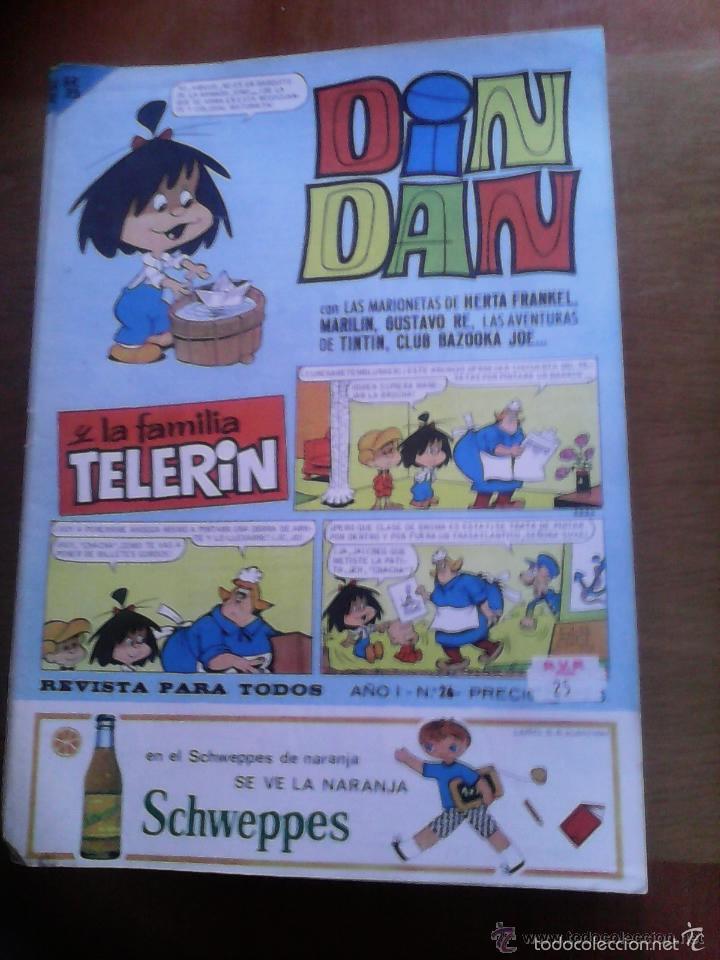 Tebeos: Din Dan y la Familia Telerín. Lote. Se venden sueltos. - Foto 2 - 61307779