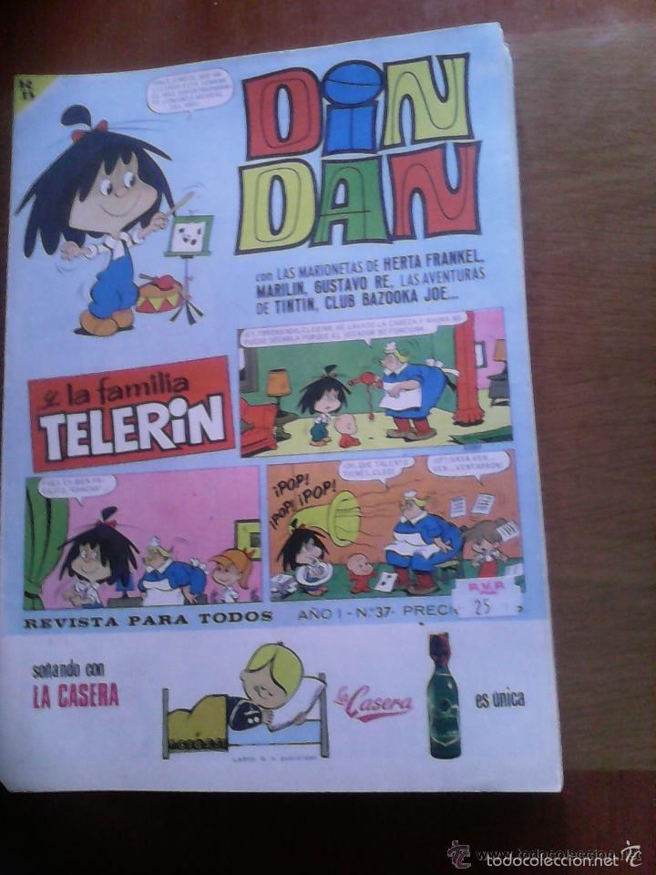 Tebeos: Din Dan y la Familia Telerín. Lote. Se venden sueltos. - Foto 3 - 61307779