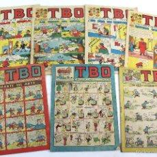 Tebeos: L-3529 LOTE 7 REVISTAS DE TBO AÑOS 60-70. Lote 56150664