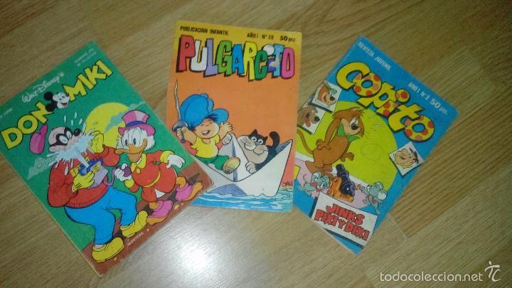 DON MIKI 275-COPITO 2-PULGARCITO 28 (Tebeos y Comics - Tebeos Pequeños Lotes de Conjunto)