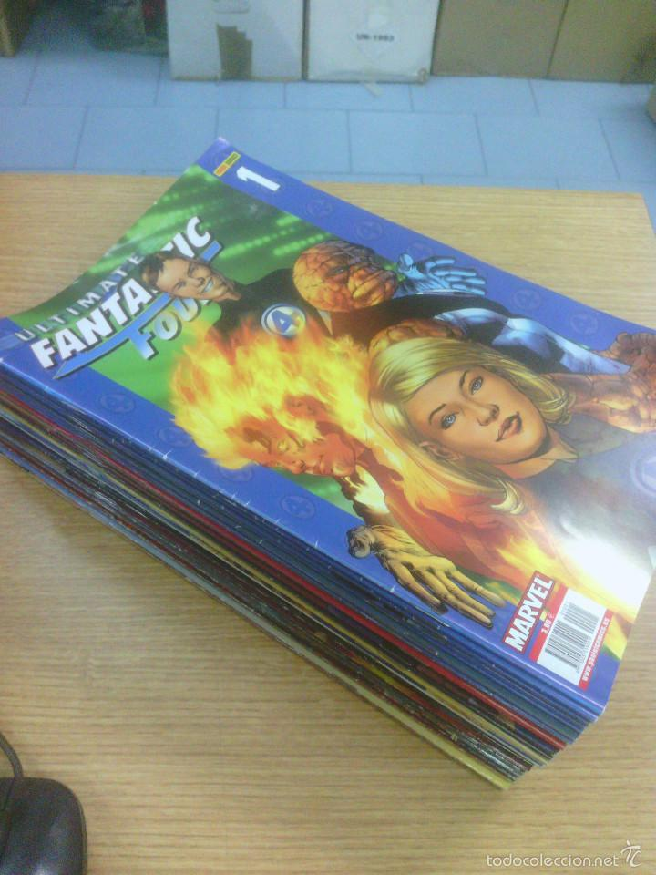 ULTIMATE FANTASTIC FOUR PACK (CASI COMPLETA - FALTAN 19, 28 Y 30) (Tebeos y Comics - Tebeos Pequeños Lotes de Conjunto)