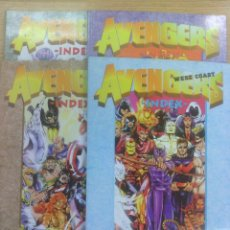 Tebeos: AVENGERS INDEX COLECCION COMPLETA (4 TOMOS). Lote 57190562