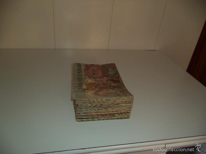 Tebeos: Yuki el Temerario, Año 1.958. Lote de 102. Tebeos Originales esta del Nº 1 AL 101 Todos Seguidos. - Foto 18 - 57149249