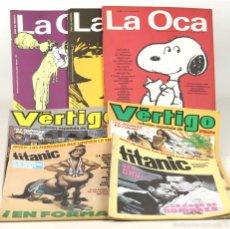 Tebeos: 7633 - LOTE DE 7 EJEMPLARES VARIAS EDITORIALES. (VER DESCRIP). VV. AA. 1982-1985.. Lote 57434450