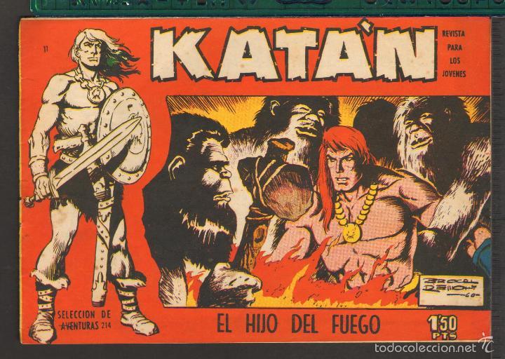 Tebeos: TEBEOS-COMICS CANDY - KATAN - COMPLETA - 48 EJ - BROCAL REMOHI - TORAY 1960 - Oferta *BB99 - Foto 11 - 57810260