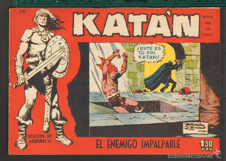 Tebeos: TEBEOS-COMICS CANDY - KATAN - COMPLETA - 48 EJ - BROCAL REMOHI - TORAY 1960 - Oferta *BB99 - Foto 13 - 57810260
