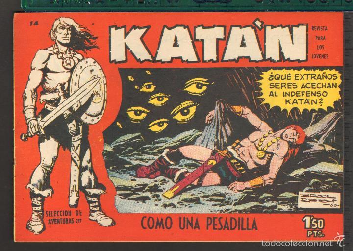 Tebeos: TEBEOS-COMICS CANDY - KATAN - COMPLETA - 48 EJ - BROCAL REMOHI - TORAY 1960 - Oferta *BB99 - Foto 14 - 57810260