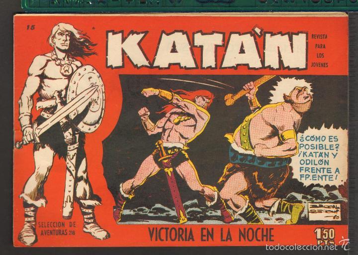 Tebeos: TEBEOS-COMICS CANDY - KATAN - COMPLETA - 48 EJ - BROCAL REMOHI - TORAY 1960 - Oferta *BB99 - Foto 15 - 57810260