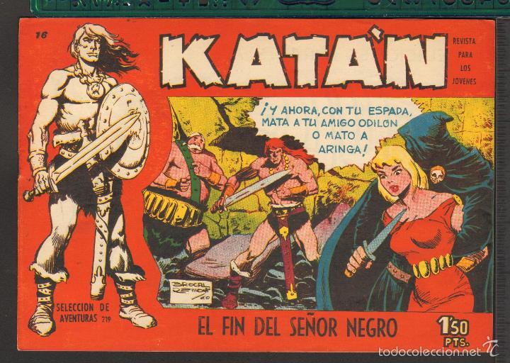 Tebeos: TEBEOS-COMICS CANDY - KATAN - COMPLETA - 48 EJ - BROCAL REMOHI - TORAY 1960 - Oferta *BB99 - Foto 16 - 57810260
