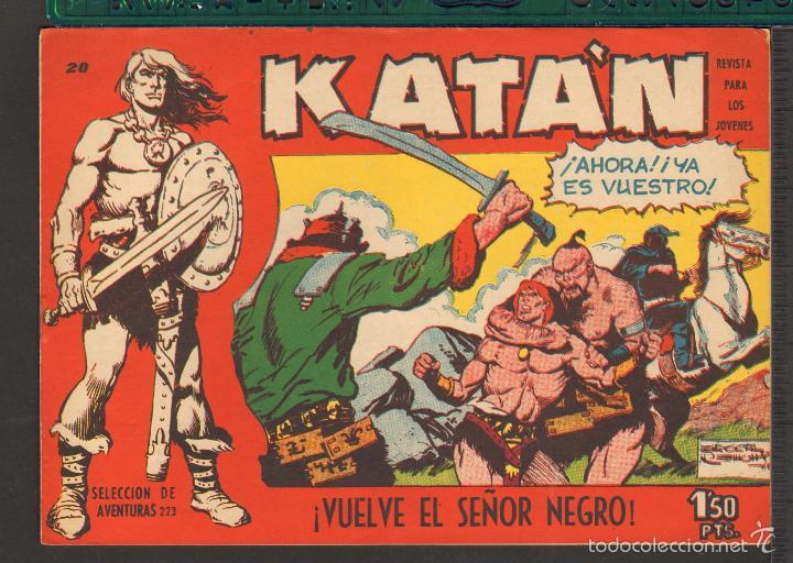Tebeos: TEBEOS-COMICS CANDY - KATAN - COMPLETA - 48 EJ - BROCAL REMOHI - TORAY 1960 - Oferta *BB99 - Foto 20 - 57810260