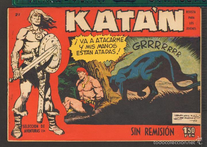 Tebeos: TEBEOS-COMICS CANDY - KATAN - COMPLETA - 48 EJ - BROCAL REMOHI - TORAY 1960 - Oferta *BB99 - Foto 21 - 57810260