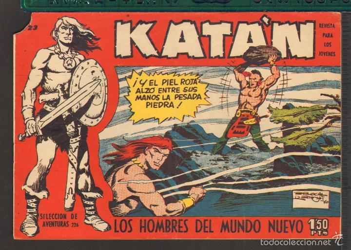 Tebeos: TEBEOS-COMICS CANDY - KATAN - COMPLETA - 48 EJ - BROCAL REMOHI - TORAY 1960 - Oferta *BB99 - Foto 23 - 57810260