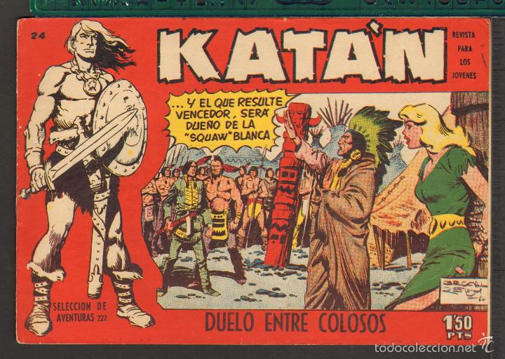 Tebeos: TEBEOS-COMICS CANDY - KATAN - COMPLETA - 48 EJ - BROCAL REMOHI - TORAY 1960 - Oferta *BB99 - Foto 24 - 57810260