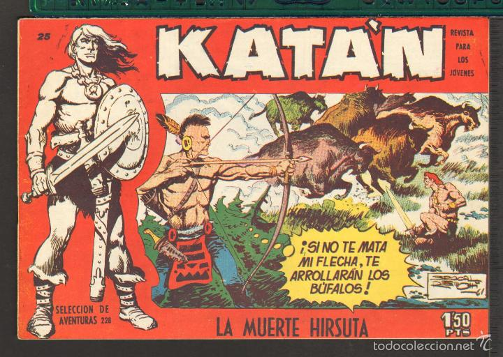 Tebeos: TEBEOS-COMICS CANDY - KATAN - COMPLETA - 48 EJ - BROCAL REMOHI - TORAY 1960 - Oferta *BB99 - Foto 25 - 57810260