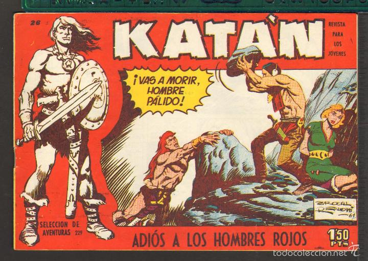 Tebeos: TEBEOS-COMICS CANDY - KATAN - COMPLETA - 48 EJ - BROCAL REMOHI - TORAY 1960 - Oferta *BB99 - Foto 26 - 57810260
