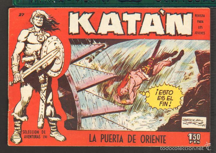 Tebeos: TEBEOS-COMICS CANDY - KATAN - COMPLETA - 48 EJ - BROCAL REMOHI - TORAY 1960 - Oferta *BB99 - Foto 27 - 57810260