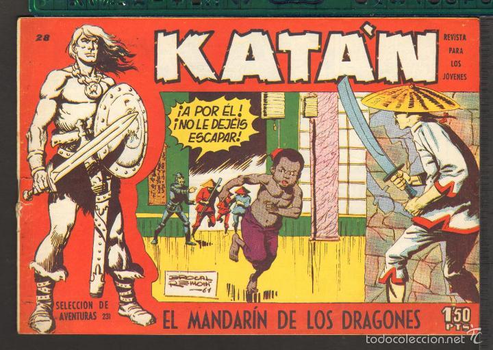 Tebeos: TEBEOS-COMICS CANDY - KATAN - COMPLETA - 48 EJ - BROCAL REMOHI - TORAY 1960 - Oferta *BB99 - Foto 28 - 57810260