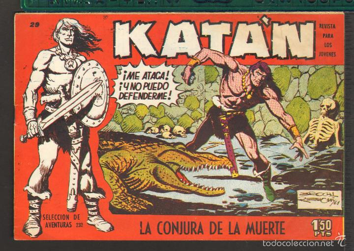 Tebeos: TEBEOS-COMICS CANDY - KATAN - COMPLETA - 48 EJ - BROCAL REMOHI - TORAY 1960 - Oferta *BB99 - Foto 29 - 57810260