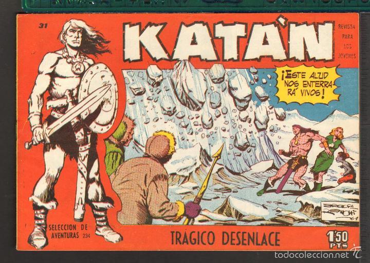 Tebeos: TEBEOS-COMICS CANDY - KATAN - COMPLETA - 48 EJ - BROCAL REMOHI - TORAY 1960 - Oferta *BB99 - Foto 31 - 57810260