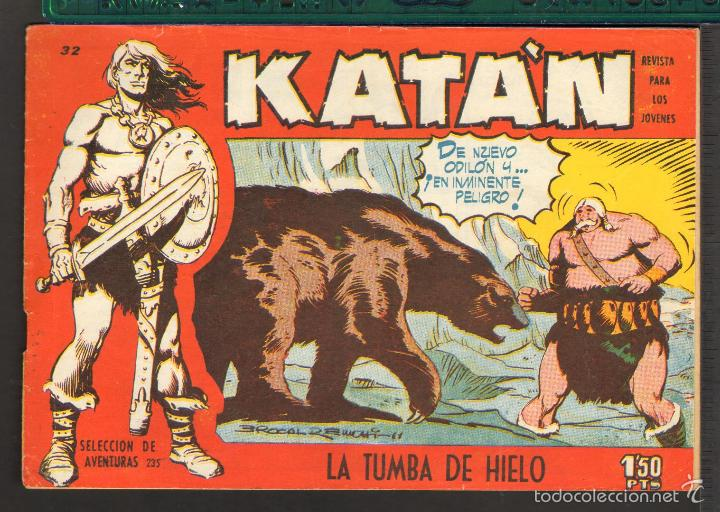 Tebeos: TEBEOS-COMICS CANDY - KATAN - COMPLETA - 48 EJ - BROCAL REMOHI - TORAY 1960 - Oferta *BB99 - Foto 32 - 57810260