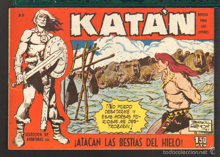 Tebeos: TEBEOS-COMICS CANDY - KATAN - COMPLETA - 48 EJ - BROCAL REMOHI - TORAY 1960 - Oferta *BB99 - Foto 33 - 57810260