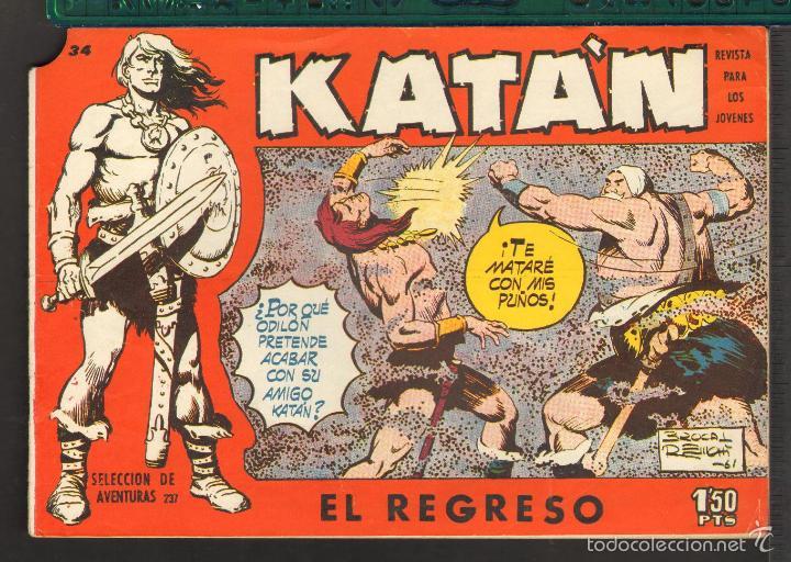 Tebeos: TEBEOS-COMICS CANDY - KATAN - COMPLETA - 48 EJ - BROCAL REMOHI - TORAY 1960 - Oferta *BB99 - Foto 34 - 57810260