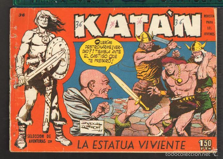 Tebeos: TEBEOS-COMICS CANDY - KATAN - COMPLETA - 48 EJ - BROCAL REMOHI - TORAY 1960 - Oferta *BB99 - Foto 36 - 57810260