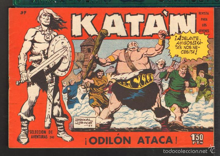 Tebeos: TEBEOS-COMICS CANDY - KATAN - COMPLETA - 48 EJ - BROCAL REMOHI - TORAY 1960 - Oferta *BB99 - Foto 37 - 57810260