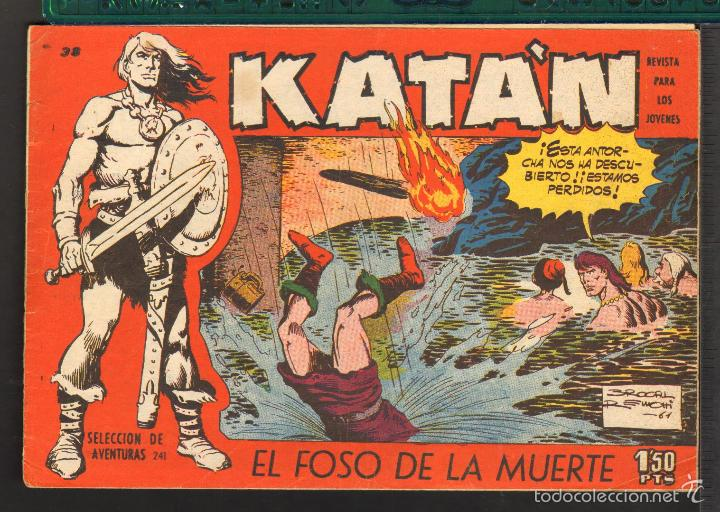 Tebeos: TEBEOS-COMICS CANDY - KATAN - COMPLETA - 48 EJ - BROCAL REMOHI - TORAY 1960 - Oferta *BB99 - Foto 38 - 57810260