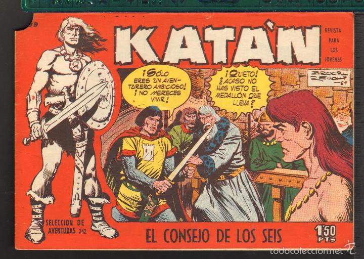 Tebeos: TEBEOS-COMICS CANDY - KATAN - COMPLETA - 48 EJ - BROCAL REMOHI - TORAY 1960 - Oferta *BB99 - Foto 39 - 57810260