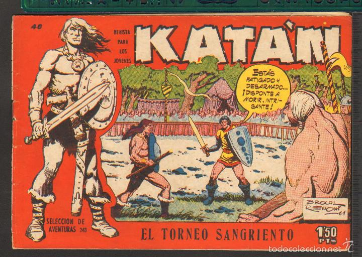 Tebeos: TEBEOS-COMICS CANDY - KATAN - COMPLETA - 48 EJ - BROCAL REMOHI - TORAY 1960 - Oferta *BB99 - Foto 40 - 57810260